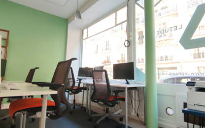 Open Space  2  postes Location bureau Paris 75007
